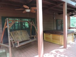 Serenity: 3 Bedroom 3 Bath w/Game Room and 2 Decks Inside the Coosawattee River Resort