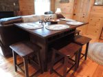 Dining Table seats Four Guests