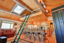 E9: Spacious and close to the action. Just steps away from the slopes, the outdoor grill, hot tub, and recreation room!