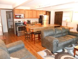 B1: Spacious one bedroom has big windows, convenient parking, and is our most accessible condo.