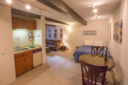Recently updated, this bright and cheerful condo offers a variety of sleeping accommodations.