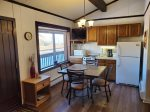 Nicely decorated and convenient - on the upper parking lot level with great views.