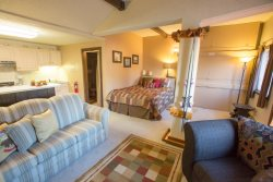 G2: Charming Large Studio directly on the lower parking lot for easy access to all activities!