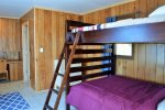 Full Bunkbeds in the Guest Cabin