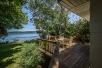 Deck Overlooking Portage Lake