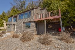 Pet Friendly Crystal Lake Home with Large Sandy Beach