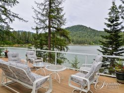 Huge waterfront home with 3 MASTER SUITES, hot tub and an incredible waterfront location