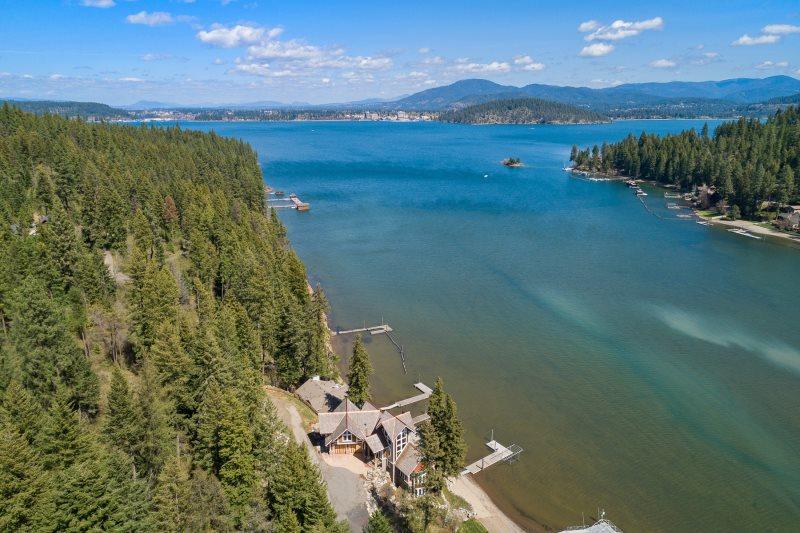 Lake Coeur d'Alene Luxury Vacation Rental