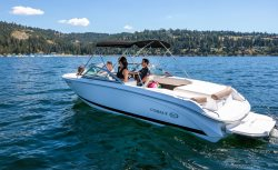 Luxury and lots of room combine to make this Coeur d`Alene`s finest rental boat