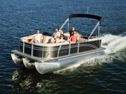 NEW  Pontoon boat with 150 HP | Fast and Fun