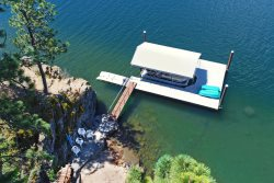 The Overlook at Neachen Bay | Large Waterfront Cabin with Private Dock