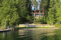 Bennett Bay Beach House | Huge waterfront home just 2 miles from downtown Coeur d`Alene