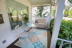 Sanders Cottage | Quiet Tree-lined Street Blocks from Beaches and Hiking