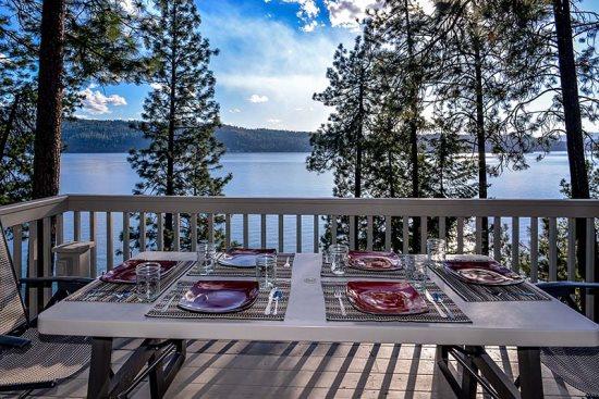 Groovy Coeur Dalene Idaho Waterfront Vacation Rentals Interior Design Ideas Clesiryabchikinfo