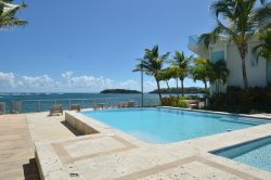 Beautiful Garden Level Ocean Front Condo at the Exclusive Las Balandras