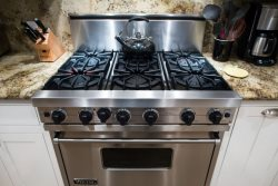 For the Culinary Inclined Enjoy Your Gourmet Kitchen with DCS Gas Range Stove