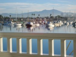 Enjoy the Views of Newport Bay and Beach From Casa 225 Great Room, Master, and Patio Deck