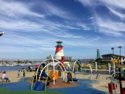 Our Beach in Front Marina Park Beach Slide in Light House and Childrens State of the Art Play Park