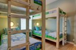 Bunk Room with extra-long twin beds