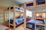 Bunk room upstairs