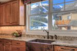Fabulous Lone Peak View from kitchen sink You will want to be the cook