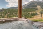 Watch all the action from the very private, brand new outdoor hot tub
