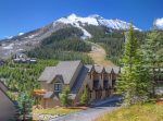 Kitchen is loaded with all of your cooking needs and offers spectacular mountain views