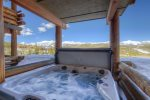 Enjoy spectacular mountain vistas and ski-in/out from your door