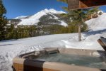 Enjoy direct Lone Peak views from private outdoor hot tub - next to slope