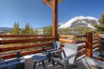 Spectacular Lone Peak views from decks with plenty of outdoor seating.