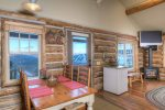 The Outlaw Cowboy Heaven Cabin with the BEST views and ski-in/ski-out in Big Sky