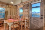 Stay On Top of the World in The Outlaw Cowboy Heaven Cabin. New Stainless steel appliances.