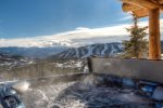 This cabin sits ON the slopes w/ Breathtaking Views from Private Outdoor Hot Tub