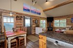 This Private Luxury Cowboy Heaven Cabin has the Best ski-in/out in the Rockies