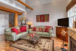 Unbeatable luxury and Montana elegance in this 2BR/2.5BA ski-in/out Saddle Ridge