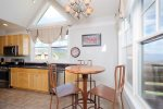 Large open kitchen - plenty of supplies, space, storage and views