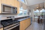 Master Suite 1 with king bed, private bath, twin sleeping loft, flat screen TV