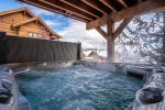 8 Person Private Outdoor Hot Tub w/ Breathtaking, On top of the World Views.