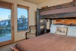 Another view of Bedroom Suite 3 with queen bed and private bath.