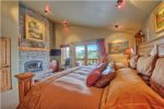 Luxury Galore in this large master suite with amazing views and gas fireplace