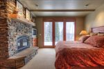 Large Master Suite with private entry, TV, large bath with jetted tub and shower