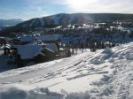 Dining area seats 6-8. Open to views, kitchen & great room