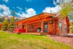 With Lone Peak as a back drop, this cabin offers everything from luxury to the rustic Montana vacation of a lifetime.