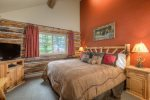 Another view of Master suite with king bed and private bath