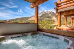 You will be the envy of everyone as you sit in your 6 person slopeside hot tub with panoramic mountain views.