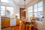 Unbeatable Lone Peak views from private sitting area outside of master bedroom