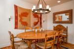 Views of Big Sky valley and ski slopes from master bedroom patio