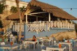 BBQ/grill restaurant on the beach at Blue Bay - Enjoy your sunset each evening with a beer or wine and enjoy the amazing diner the chef makes for you