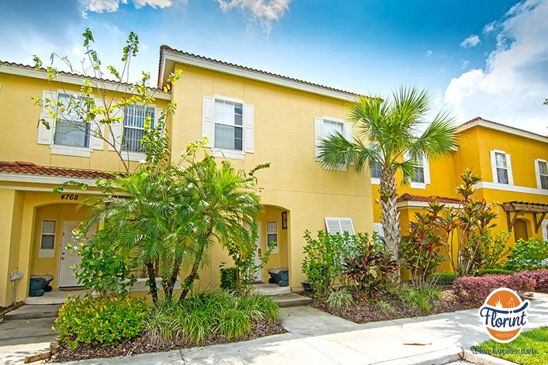 3 Bedroom Kissimmee Vacation Townhouse With Lots Of Extras In The Gated Community Of Terra