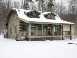 Adirondack Log Home